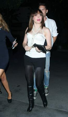 Rose McGowan 20Madonna Concert Staples Center in Los Angeles 10.10.12