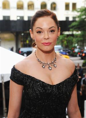 Rose McGowan - 3rd Annual amfAR Inspiration Gala, NYC - Jun 7, 2012
