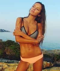 Luna Sobrino in a bikini