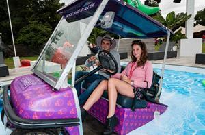 Kaya Scodelario  V Festival in Chelmsford, England August 16, 2014