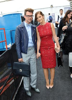 Minka Kelly Spotted out during New York Fashion Week - September 11, 2012