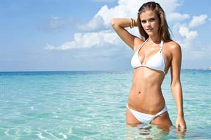 Nina Agdal – Sauvage Swimwear 2013 Collection shoot