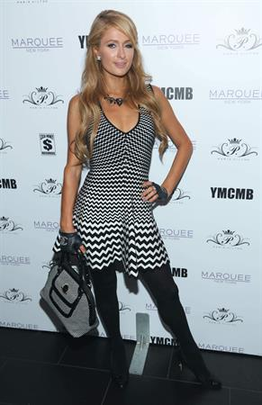 Paris Hilton attends Paris Hilton's 'Good Time' Single Release Party at Marquee in New York - September 25, 2013