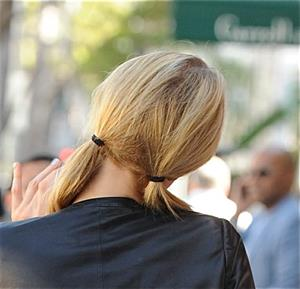 Paris Hilton arrives at Beverly Hills spa September 30, 2013