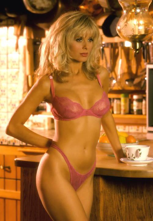 Cathy St. George in lingerie