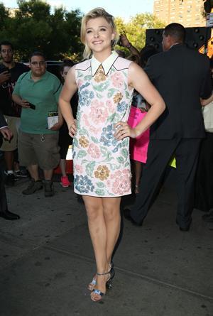 Chloe Grace Moretz If I Stay New York premiere August 18, 2014