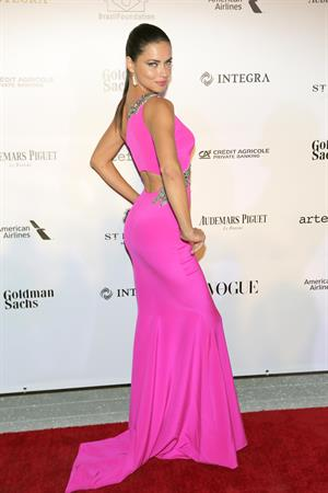 Adriana Lima Brazil Foundation Gala Miami at Perez Art Museum Miami in Miami March 15, 2014