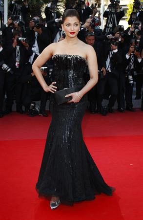 Aishwarya Rai Premiere of On Tour during the 63rd Annual Cannes Film Festival