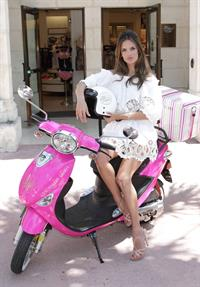 Alessandra Ambrosio Victoria's Secret Bombshell Tour in Miami 2/6/2011