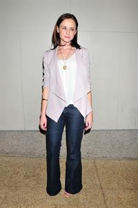 Alexis Bledel at the MTV Seven Studios in New York City 11-04-2011