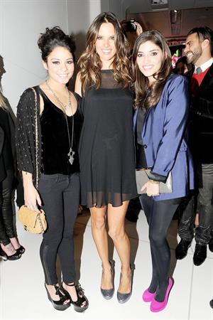 Alessandra Ambrosio Galeria Melissa Flagship store opening New York on February 8, 2012