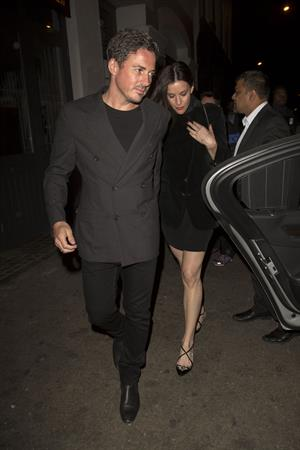 Liv Tyler arrives at Shoreditch House in London August 15, 2014
