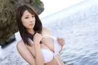 Shion Utsunomiya in a bikini