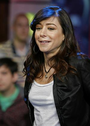 Alyson Hannigan on MTV's TRL