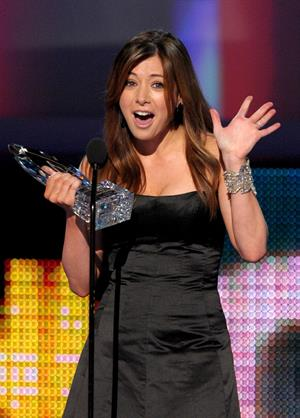 Alyson Hannigan at the Peoples Choice Awards 2010 held at the Nokia Theatre on January 6, 2010 in Los Angeles