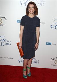 Alyson Hannigan Jonsson Cancer Center Foundation's 'Taste for a Cure' - Apr 25th, 2014
