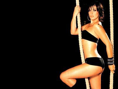 Kym Marsh in lingerie - ass