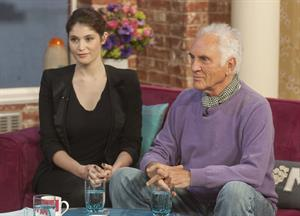 Gemma Arterton  This Morning  show in London - Feb 6, 2013