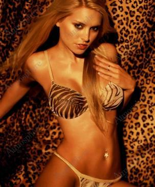 Laura More in a bikini