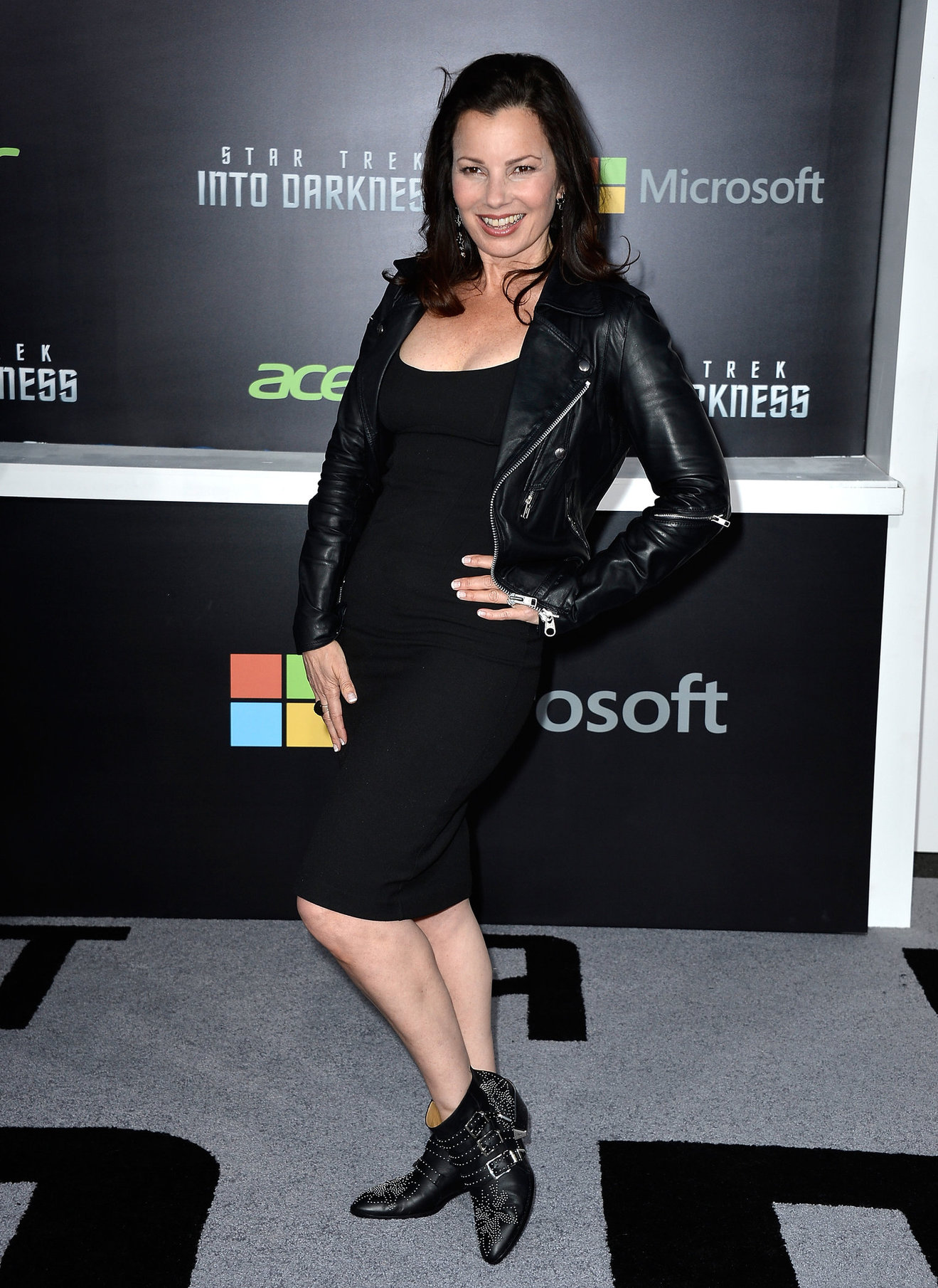 Fran Drescher attending the  Star Trek Into Darkness  Los Angeles Premiere on May 14, 2013