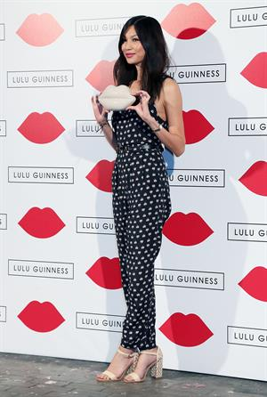 Gemma Chan Lulu Guinness: Paint Project Party in London, July 11, 2013