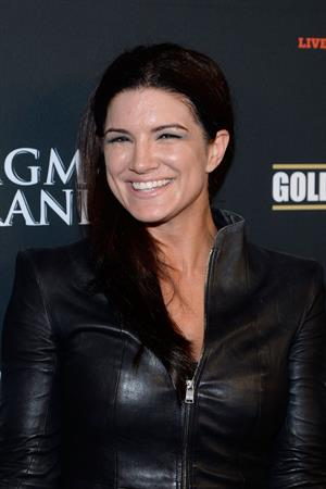 Gina Carano Pre-Fight Party For Floyd Mayweather Jr. vs Canelo Alvarez Title Fight on September 14, 2013