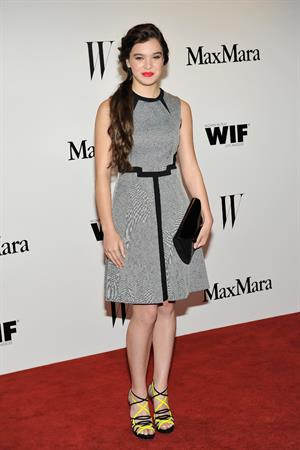 Hailee Steinfeld MaMara And W Magazine Cocktail Party, Beverly Hills, CA (6/11/13)