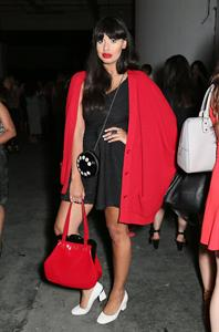 Jameela Jamil Lulu Guinness: Paint Project Party in London, on July 11, 2013