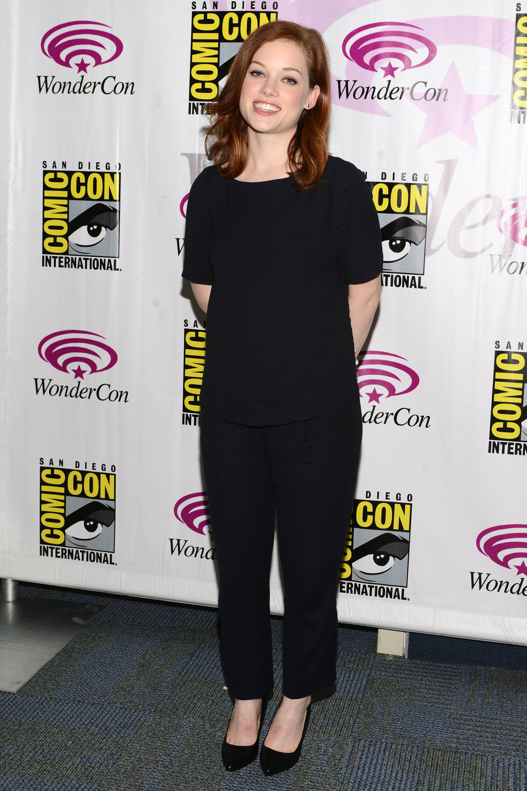 Jane Levy WonderCon Anaheim 2013 Day 2 on March 30, 2013