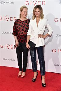 Meryl Streep attending  The Giver  New York City premiere August 11, 2014