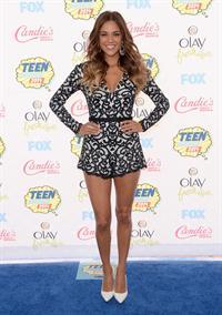Jana Kramer attending the 2014 Teen Choice Awards, Los Angeles, August 10, 2014