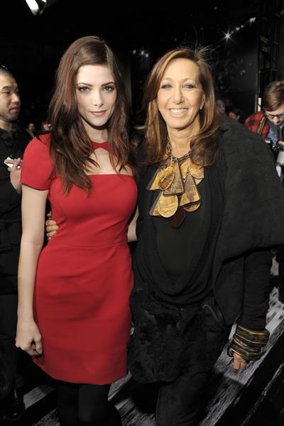 Ashley Greene attending the DKNY Fall 2012 Fashion Show in NYC Feb. 12, 2012