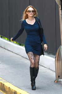 Heather Graham out for a stroll in West Hollywood on May 8, 2013