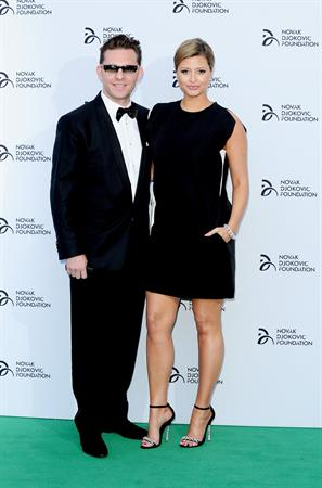Holly Valance attending the Novak Djokovic Foundation Gala Dinner in London, July 8, 2013