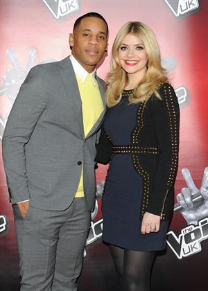 Holly Willoughby 'The Voice' photocall in London, March 11, 2013