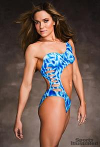 Natalie Coughlin in body paint