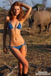 Cintia Dicker in a bikini