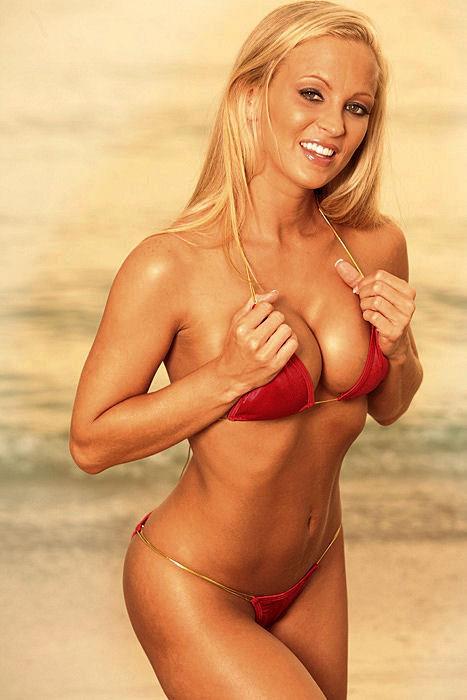 Jenn in a bikini