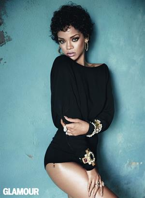 Rihanna: Glamour Photoshoot