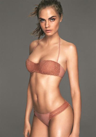 Cara Delevingne in a bikini