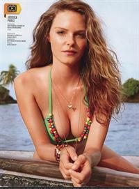 Jessica Perez in a bikini