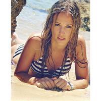 Nadja Purtschert in a bikini
