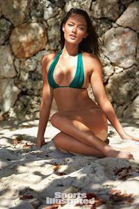 Mia Kang in a bikini