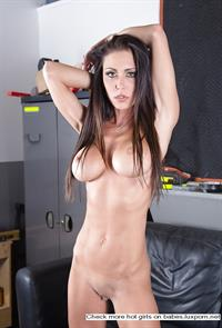 Jessica Jaymes - pussy and nipples