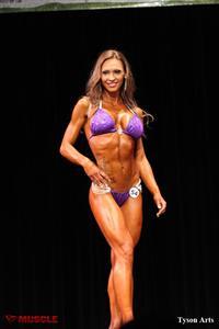 Jennifer Shuler in a bikini