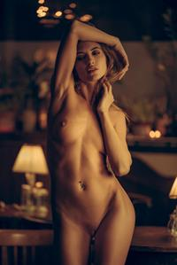 Taya Vais poses nude for Playboy