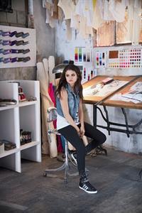 Selena Gomez 2013 Adidas Autumn Campaign Photoshoot