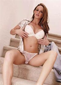 Taylor Little in lingerie