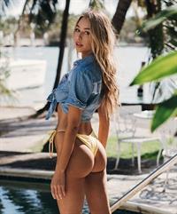 Celeste Bright in a bikini - ass