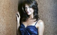 Sarah Lancaster in lingerie